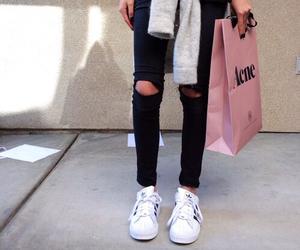 fashion, acne, and black image