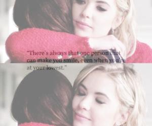 friendship, hug, and smile image