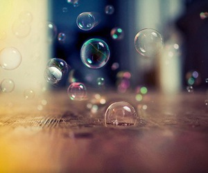 bubbles, photography, and colorful image