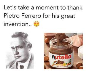 nutella and funny image
