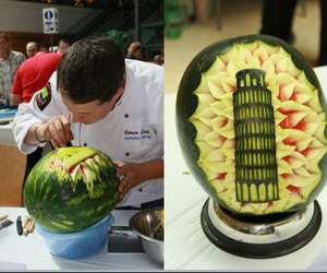 food, melon, and italy image