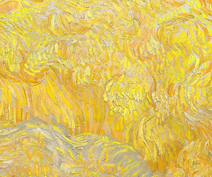 yellow, art, and painting image