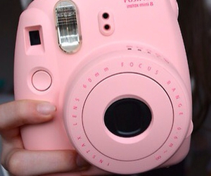 camera, photo, and pink image