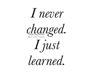 never, quotes, and changed image