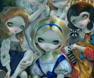 art, fairy tales, and jasmine becket-griffith image