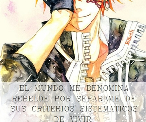 anime, frase, and boys image
