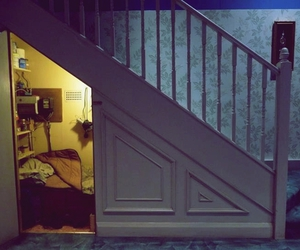 harry potter, room, and stairs image