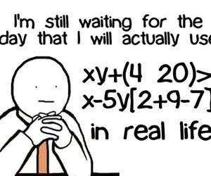 math, life, and funny image