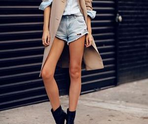 fashion, denim, and street style image
