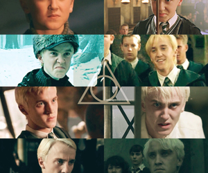 books, draco malfoy, and backgrounds image