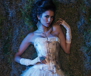 Nina Dobrev, the vampire diaries, and elena gilbert image