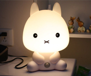 cute, lamp, and light image