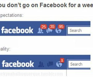 facebook, funny, and reality image