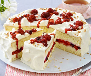 cake, food, and ymmy image