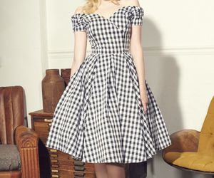 dress, pinup, and rockabilly image
