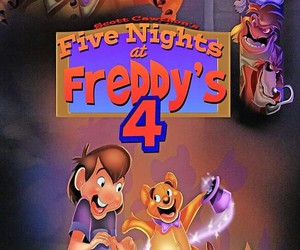 fnaf4 and five nights at freddys 4 image