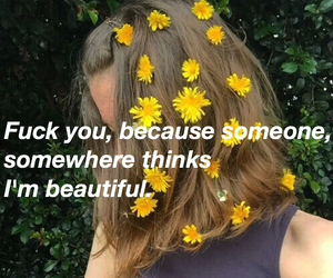 aesthetic, grunge, and flowers image