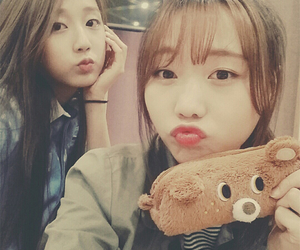woolim, yein, and lovelyz sujeong image
