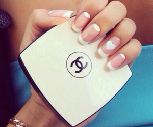 nails, chanel, and manicure image