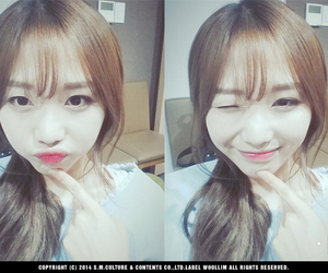 woolim and lovelyz sujeong image