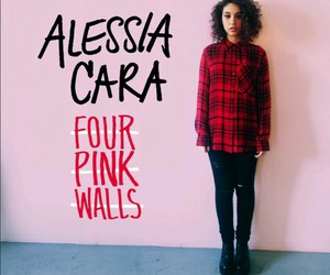alessia cara, four pink walls, and album image