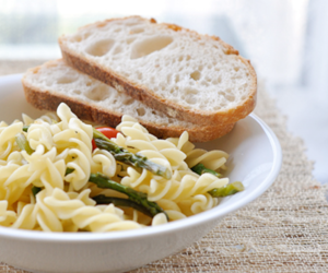 bread, food, and pasta image