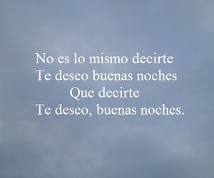 frases, buenas noches, and te deseo image