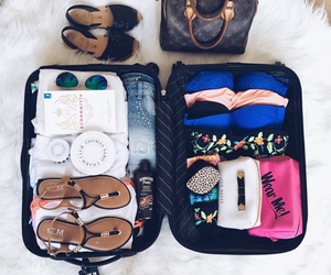 travel, summer, and vacation image