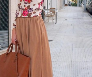 maxi, outfit, and red image