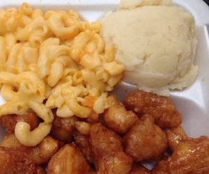 Chicken, food porn, and potatoes image
