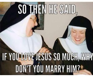 Catholic, jesus, and marriage image