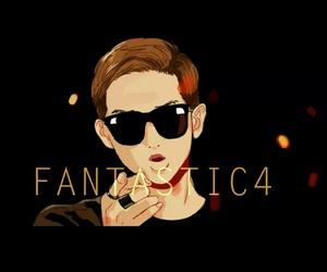 fantastic 4, namjoon, and bts image