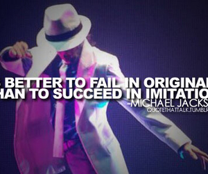 michael jackson, quote, and mj image