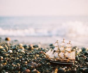 sea, boat, and ship image