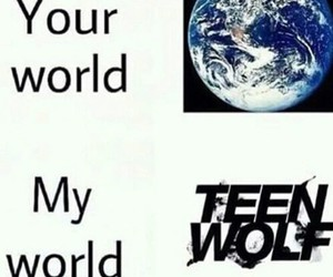 teen wolf, world, and ❤ image