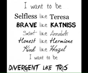 divergent, the fault in our stars, and hunger games image