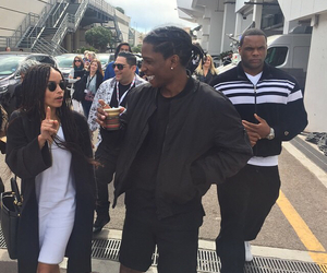 asap rocky, zoe kravitz, and a$ap rocky image