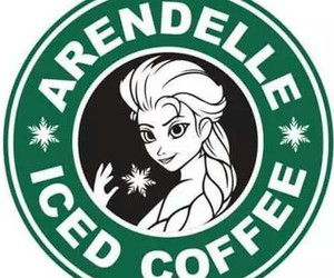 frozen, movies, and starbucks image