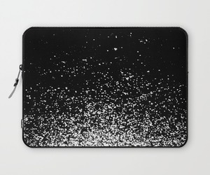 black and white, infinity, and laptop sleeve image