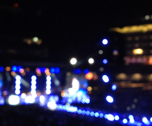 concert, summer, and unfocused image