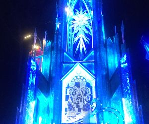 blue, disney, and frozen image