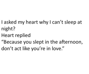 funny, sleep, and heart image