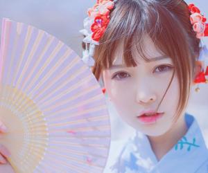 asian fashion, hair, and japanese fashion image