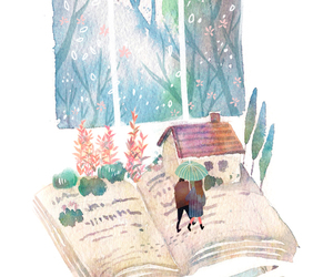 book, story, and love image