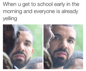 funny, Drake, and meme image