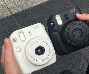 black, camera, and photos image