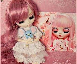 christmas card, pullip, and happy image