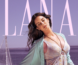lana del rey, honeymoon, and high by the beach image