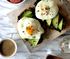 food, healthy, and avocado image