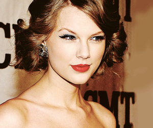 red lips, Taylor Swift, and cute image